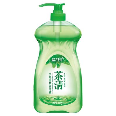 藍月亮 洗潔精 茶清1kg瓶 天然綠茶