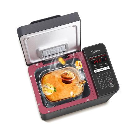美的面包機家用全自動智能多功能和面早餐烤吐司機多功能自動撒料MM-TLS2010