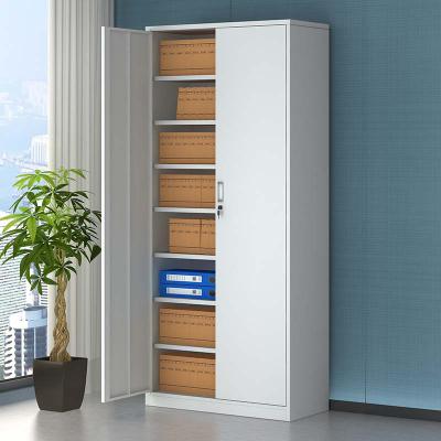全簡文件柜辦公柜鋼制鐵皮柜資料柜檔案柜儲物柜財務憑證柜七板