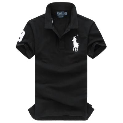 Ralph Lauren/拉夫勞倫男裝短袖POLO衫大馬標經典款修身網球衫912