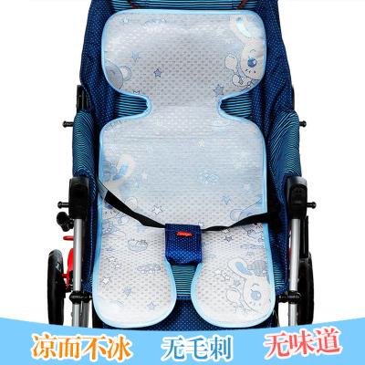 嬰兒推車涼席 寶寶涼席 冰絲席多用涼席 寶寶推車涼席 兒童座椅涼席 推車席