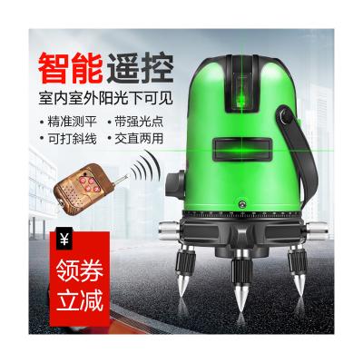 绿光水平仪激光2线3线5线红外线强光高精度自动打线法耐(FANAI)投线仪水平仪 超强绿光2线特加厚塑箱