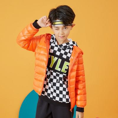【1件3折价:69】moomoo童装女童轻羽绒服连帽韩版短款中大儿童外套