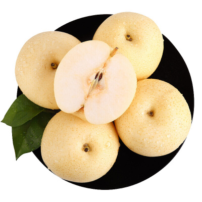 【滿2件減3元】百寶源皇冠梨5斤8-9個左右單果重240-300g左右 國產生鮮水果 脆甜多汁 光滑細膩
