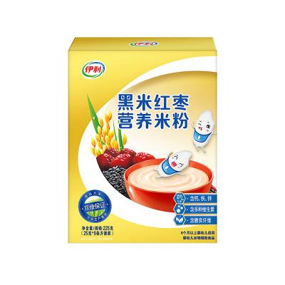 伊利黑米紅棗營養米粉225克
