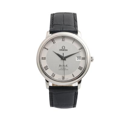 【二手95新】歐米茄OMEGA碟飛系列4875.31.01男表自動機械奢侈品鐘手表腕表