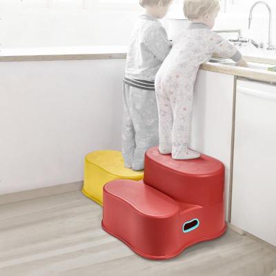 babycare寶寶凳子兒童墊腳凳防滑塑料小椅子家用洗手臺階小凳子 8013 8023