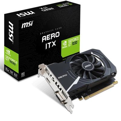 MSI/微星 GT1030 AERO 2G OC ITX游戏独立显卡小卡短卡替GTX750TI