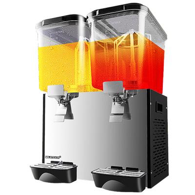 美萊特YLJ商用冷飲機單冷18L雙缸三缸果汁機自助餐廳酸梅湯飲料機