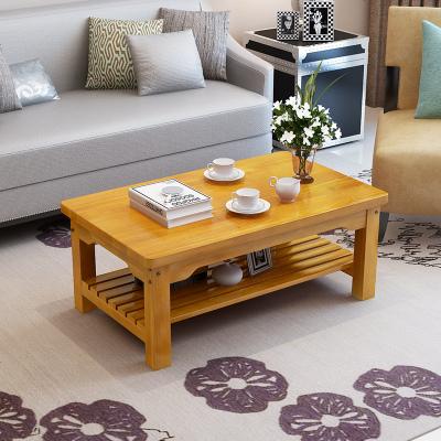 實木茶幾松木定制榻榻米方幾客廳簡易小戶型復古茶桌簡約現代矮桌