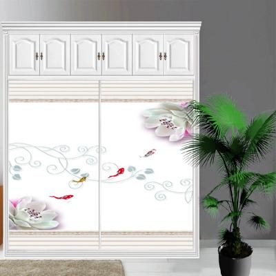 衣柜CIAA定做衣櫥推拉壁柜簡約滑動3定制鋼化玻璃衣柜移 7