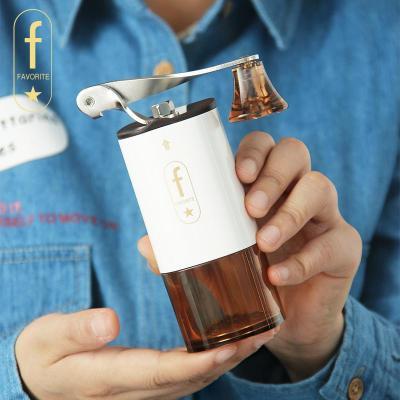 手摇咖啡磨豆机 迷你手磨便携咖啡机 家用手动咖啡豆研磨器可水洗