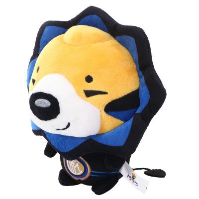 國際米蘭俱樂部新品官方吉祥物可愛獅子公仔毛絨玩具兒童禮物