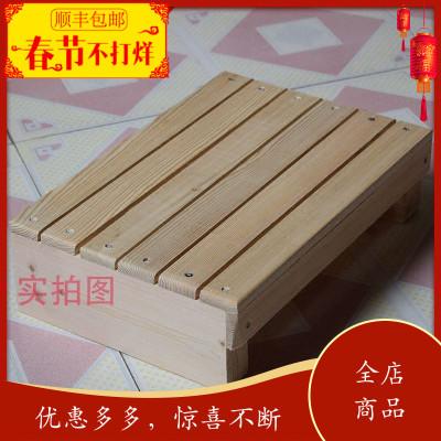 木脚踏板垫脚防腐台阶踏板架厨房凳浴室防滑增高 垫板木