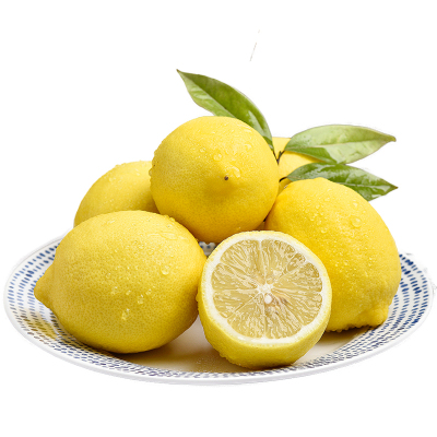 【熊貓鳥】重慶黃檸檬 新鮮水果 產地直發 凈重5斤裝 單果80g以上