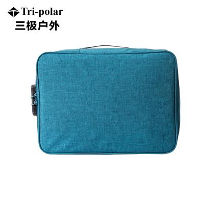 三极户外(Tripolar) TP1959 收纳包 多功能户外旅行证件包整理收纳密码锁包