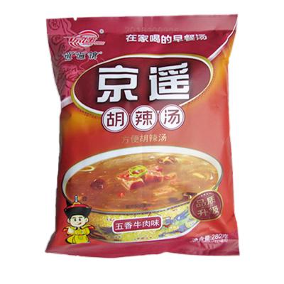 河南美食 京遙逍遙鎮胡辣湯 五香牛肉 280g/袋 速食方便湯