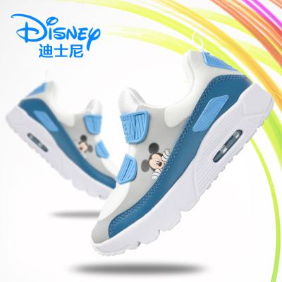 迪士尼儿童鞋子男2019新款男童运动鞋小学生跑步鞋女童休闲气垫鞋