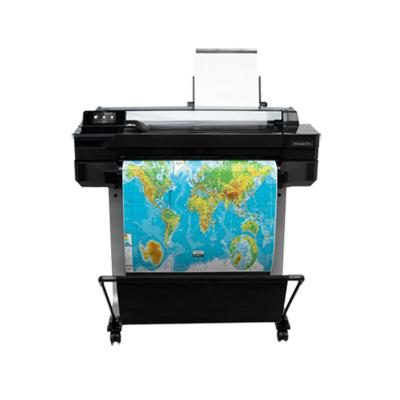 惠普(HP)DesignJet T520 (CQ893A) 36英寸 彩色喷墨绘图仪 A0大幅面打印机