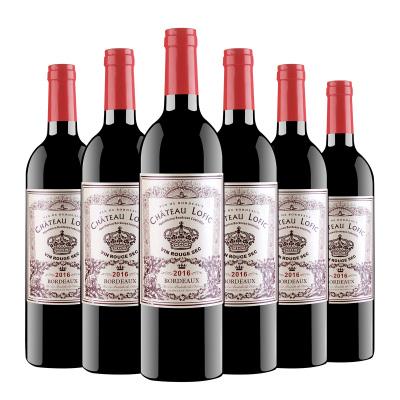 法國原瓶進口 洛菲克波爾多干紅葡萄酒13.5度 750ml*6瓶 整箱裝