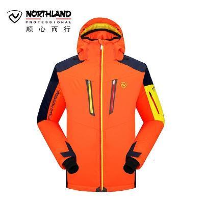 諾詩蘭(NORTHLAND)滑雪衣戶外秋冬男式防水透濕輕量保暖耐磨滑雪服外套GK045807