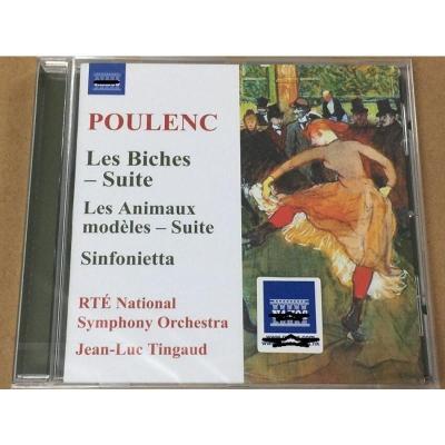 Naxos 8573739 普朗克:母鹿芭蕾音乐组曲,交响曲等 CD 正版 预订