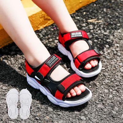 2020新款男童涼鞋夏季兒童涼鞋小童學生中大童小孩鞋韓版沙灘三歲