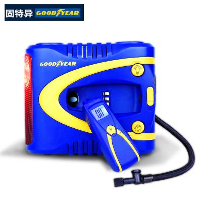固特異 車載充氣泵GY2509 預設胎壓 數控自動充氣 帶可拆卸胎壓計表