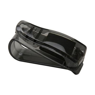 汽车眼镜夹 车载眼镜盒 片票据夹遮阳板眼睛夹车载眼镜架夹汽车用品黑色