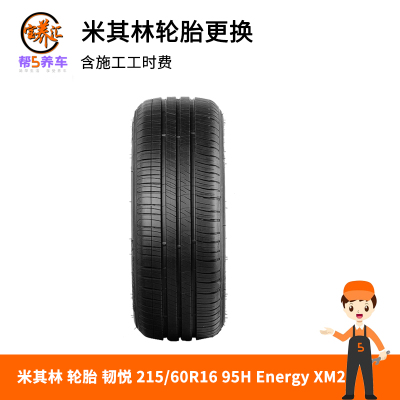 【寶養匯-全國包郵包安裝】米其林 輪胎 韌悅 215/60R16 95H Energy XM2