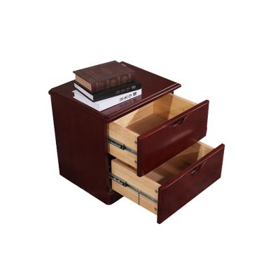 【田珍】簡約中式床頭柜迷你實木床邊柜水曲柳臥室儲物小斗柜家具