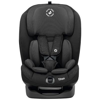 maxicosi迈可适汽车儿童安全座椅9个月-12岁头靠12档可调五点式安全带ISOFIX接口(游牧黑)Titan