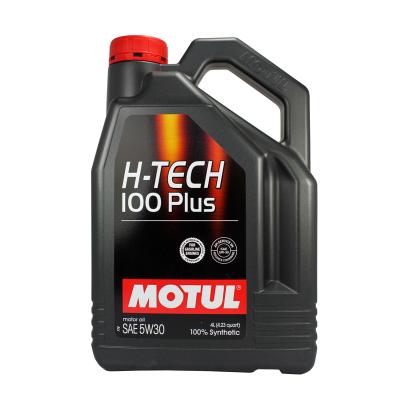 摩特MOTUL h-tech100plus5w-30全合成豐田本田標致機油4LJ30W