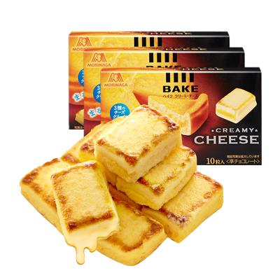 【芝士小方---3盒】森永日本進口休閑零食芝士小方38g*3濃郁芝士糕點餅干點心