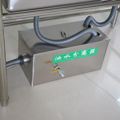 闪电客 不锈钢隔油池污水处理商用小型饭店餐饮厨房专用油水分离器过滤器 抖音