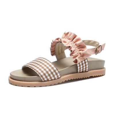 品牌時尚 2019夏季新款韓版時尚女童公主兒童平底涼鞋