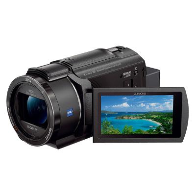 索尼(SONY) FDR-AX45+三脚架 4K数码摄像机 约829万像素 3英寸屏
