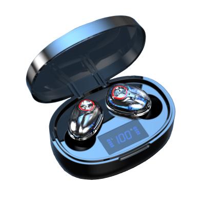 AEITTO T12真無線藍牙耳機TWS 游戲音樂運動入耳式 適用于蘋果/華為/榮耀/oppo/vivo/小米 黑色