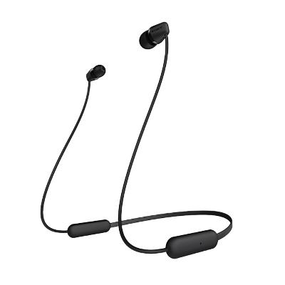 索尼(SONY)WI-C200 无线立体声耳机 黑色