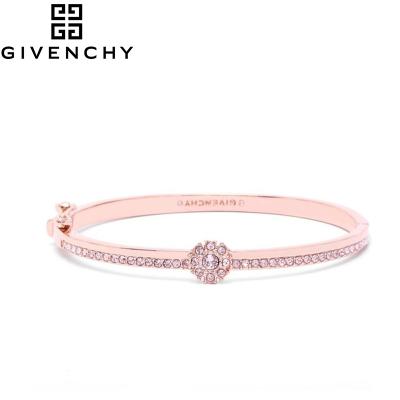 Givenchy/纪梵希 清新花语系列施华洛世奇人造水晶按扣式手镯