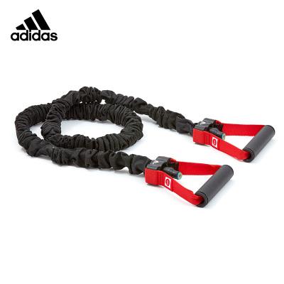 Adidas阿迪達斯彈力帶健身男彈力繩阻力拉力帶胸肌訓練健身器材家用拉力繩