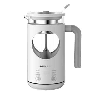奧克斯黑茶煮茶器HX-S0708F 3種濃度 6大功能 蒸煮2用 家用多功能全自動玻璃辦公室小型蒸汽普洱花茶壺