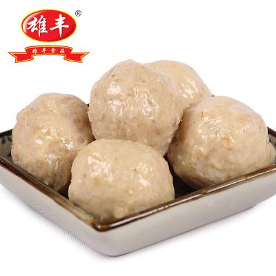 雄豐金沙貢丸 500g包裝小吃打火鍋麻辣燙關東煮肉丸子食材