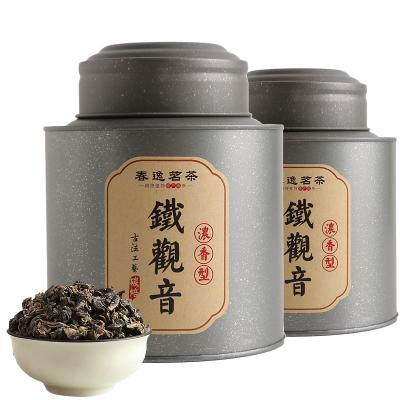 【買二送一】春逸茗茶 安溪鐵觀音茶葉 碳焙濃香型烏龍茶禮盒罐裝125g