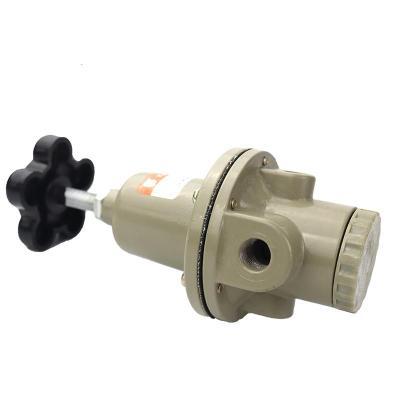 气动元件空气减压阀QTY-15/8/10/20/25 调压阀气源处理器带压力表 QTY-10(螺纹3分)