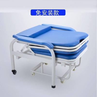醫院醫用陪護椅折疊床多功能單人兩用陪護椅折疊床家用便攜