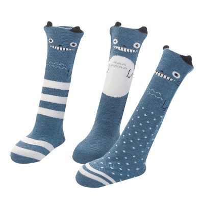 JEENH 嬰兒襪子兒童春秋季純棉寶寶過膝長筒襪0-1-3歲新生兒襪子