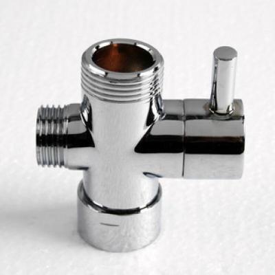 全铜淋浴套装配件 水龙头快开分水器 4分 6分可选