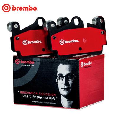 布雷博(brembo)后刹车片.陶瓷P85020N适用于宝来,高4,A4,PSA,吉普
