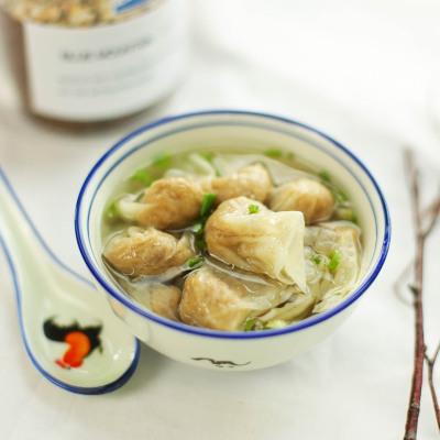 福建特产小吃郑森记肉燕馄钝250gx3手工扁食云吞速食混沌食品半成品